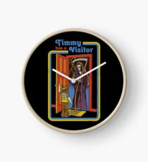 Timmy has a Visitor Clock