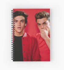 Cute twins Spiral Notebook