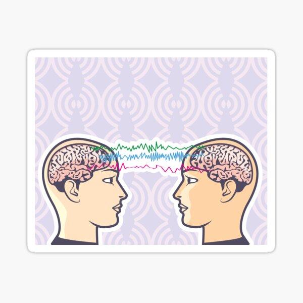 Telepathy Mind Reading Sticker
