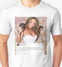 Mariah NYE GLITTER Unisex T-Shirt