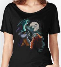 Three Legendary Moon Women's Relaxed Fit T-Shirt