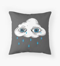 There's Something in the Clouds Floor Pillow