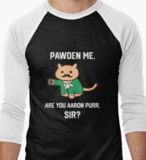 The Hamilton Cat Men's Baseball ¾ T-Shirt