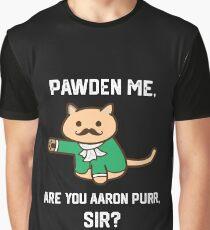 The Hamilton Cat Graphic T-Shirt