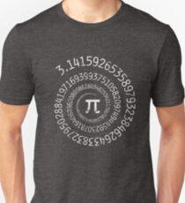 Spiral Pi Math  T-Shirt
