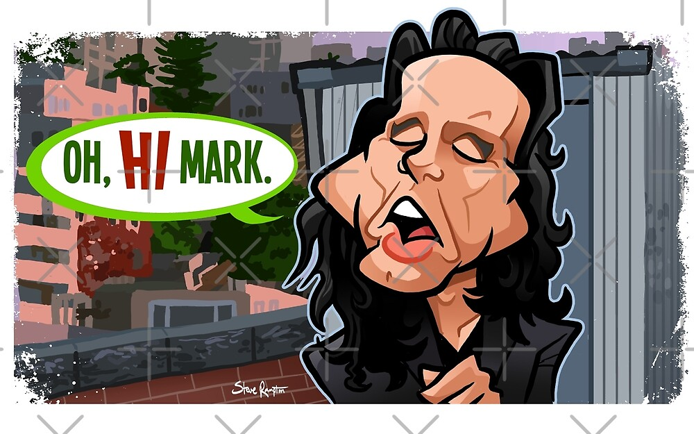 Oh Hi Mark by binarygod