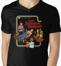 Let's Summon Demons Men's V-Neck T-Shirt