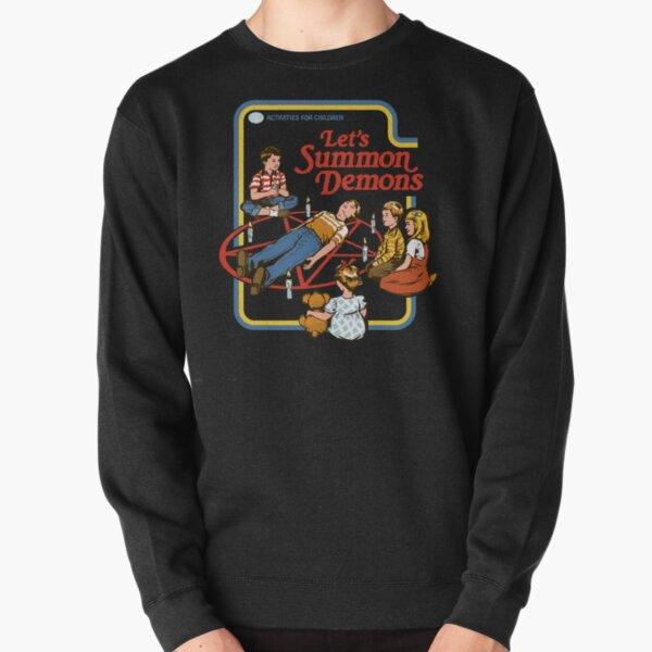 Let's Summon Demons Pullover Sweatshirt