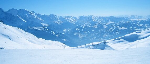Mountains, Flaine by JessBartlet