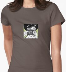 Vintage Diana Camera Woman Photographer Women's Fitted T-Shirt