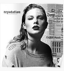 Reputation Taylor Poster