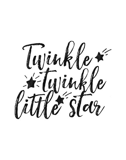 Quot Twinkle Twinkle Little Star Nursery Girls Decor Nursery