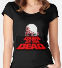 The dead zombie Women's Fitted Scoop T-Shirt