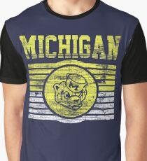 Darren Criss Fox Campaign: Michigan Wolverines Graphic T-Shirt