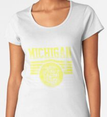 Darren Criss Fox Campaign: Michigan Wolverines Women's Premium T-Shirt