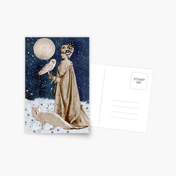 Wild Moon Goddess Postcard
