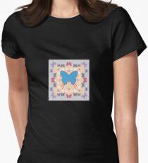 B flies Women's Fitted T-Shirt