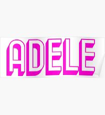 ADELE - PINK Poster