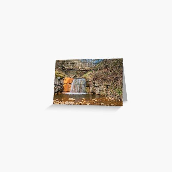 Clydach Vale Waterfall Rhondda Greeting Card