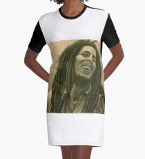 Carefree Graphic T-Shirt Dress