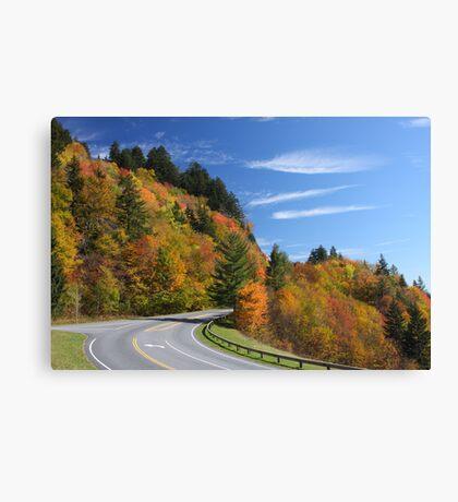 Newfound Gap Road Canvas Print