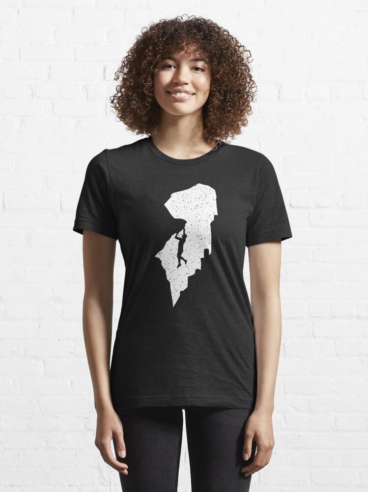 Alternate view of Rock climbing Essential T-Shirt