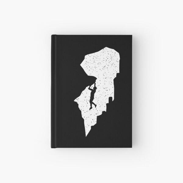 Rock climbing Hardcover Journal