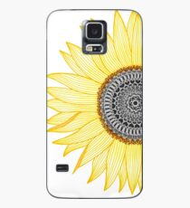 Funda/vinilo para Samsung Galaxy Golden Mandala Sunflower