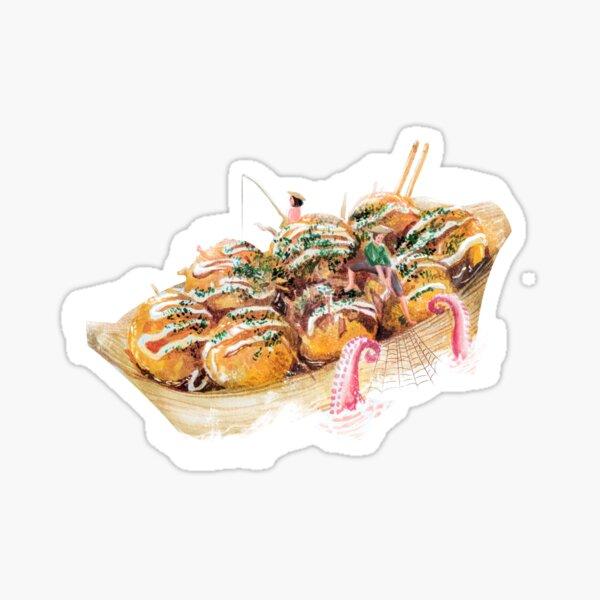 Takoyaki Sticker