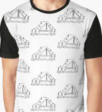 Sailboat Graphic T-Shirt
