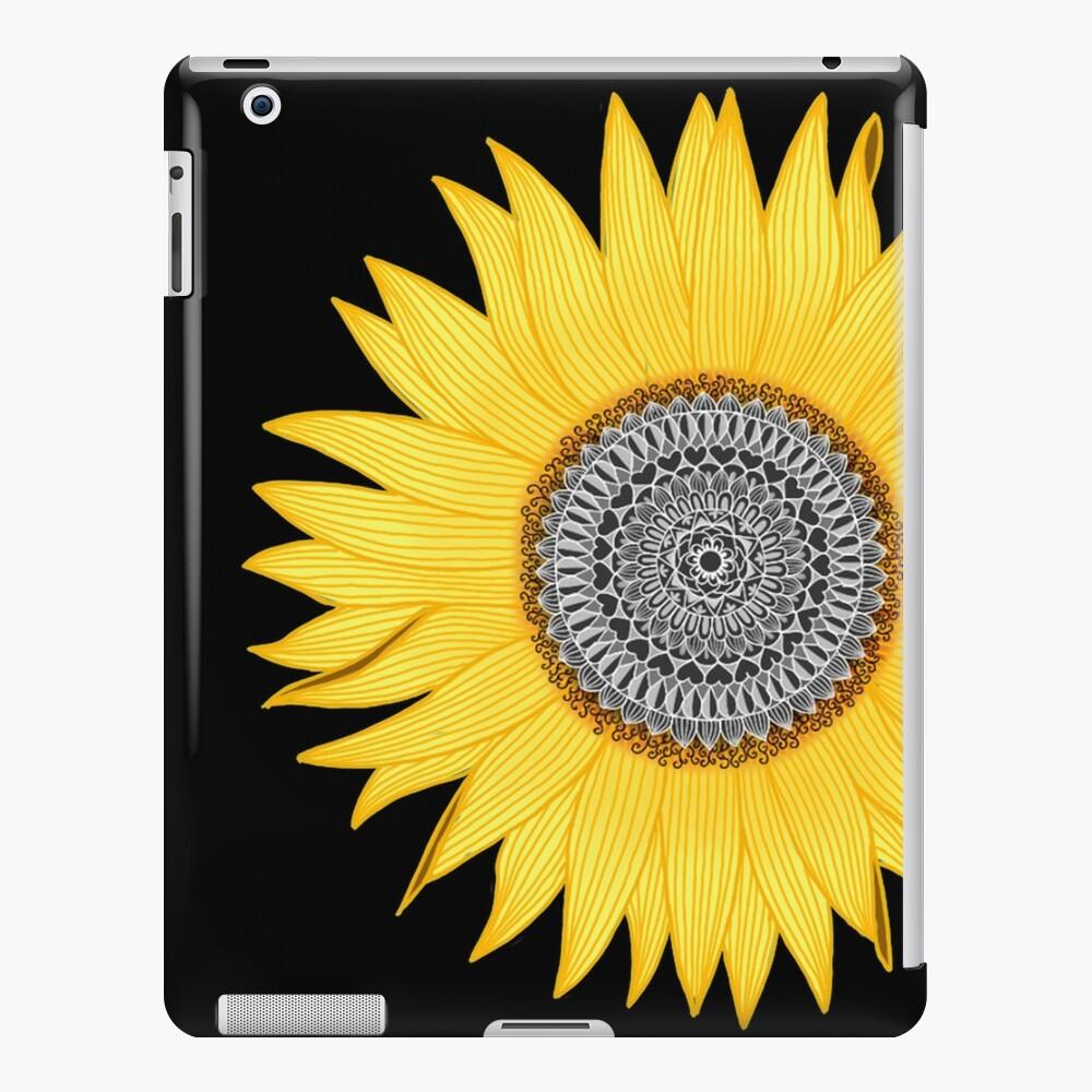 Mandala Sunflower iPad Case & Skin