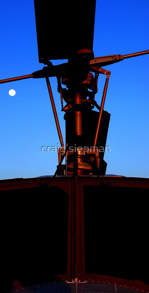 Sunrise Metal & Moon by craig siepman
