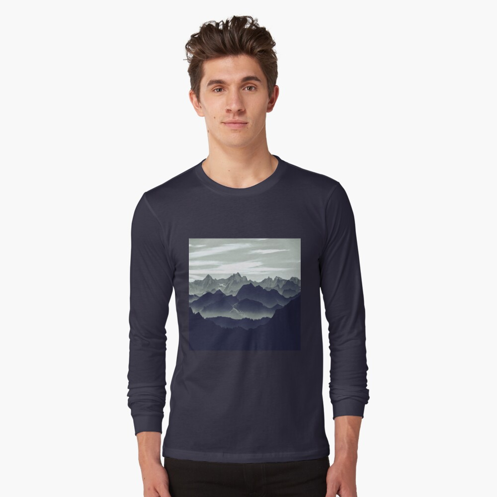 Mountains are calling for us Long Sleeve T-Shirt