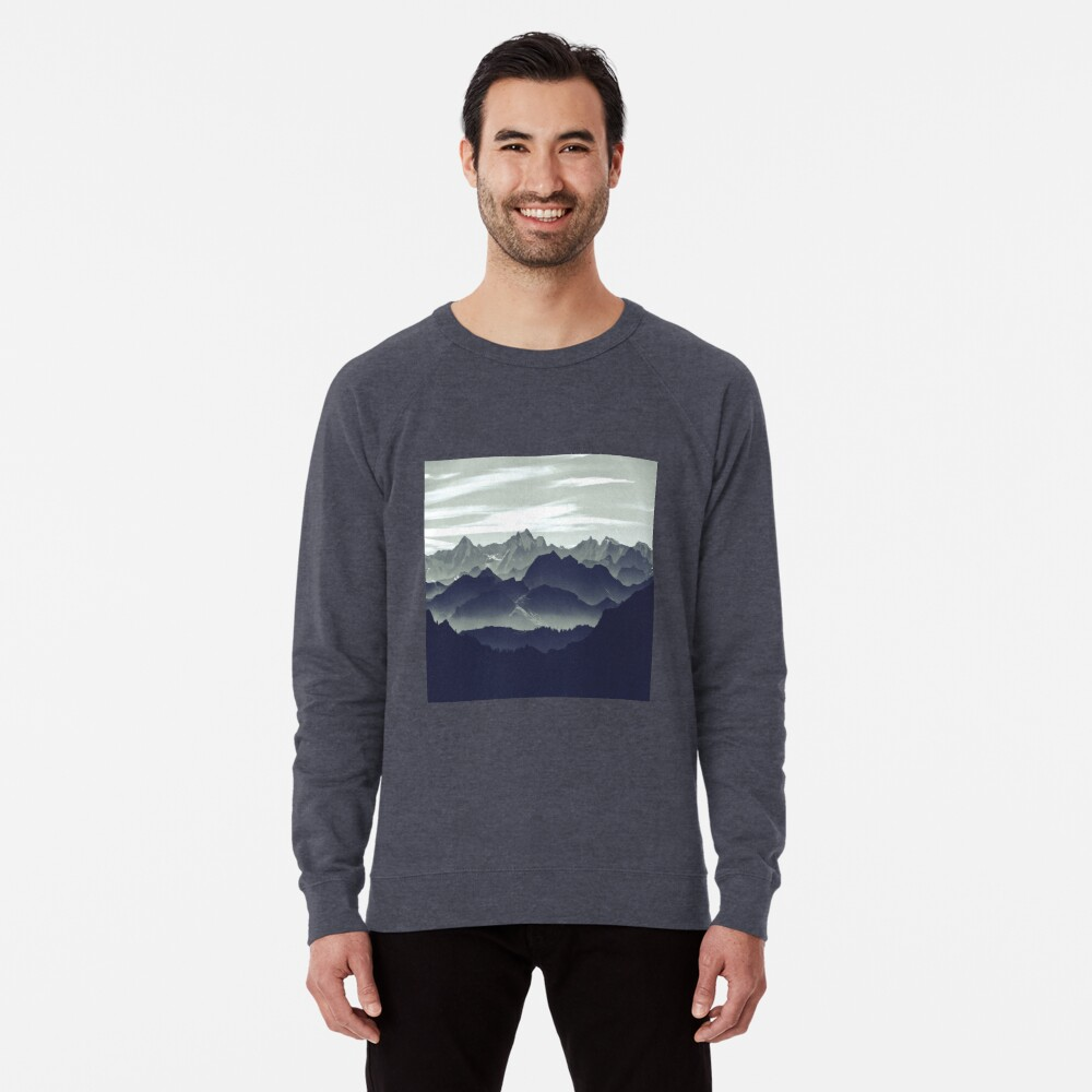 Mountains are calling for us Lightweight Sweatshirt