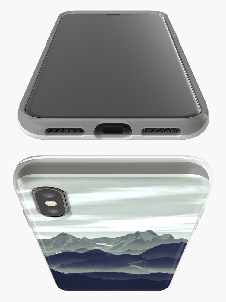 Alternate view of Mountains are calling for us iPhone Case & Cover