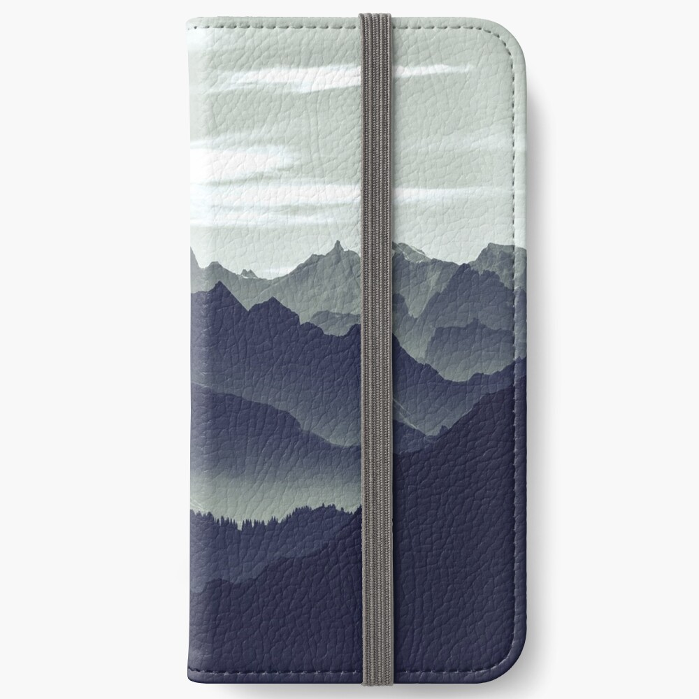 Mountains are calling for us iPhone Wallet