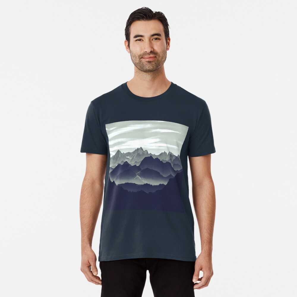Mountains are calling for us Premium T-Shirt