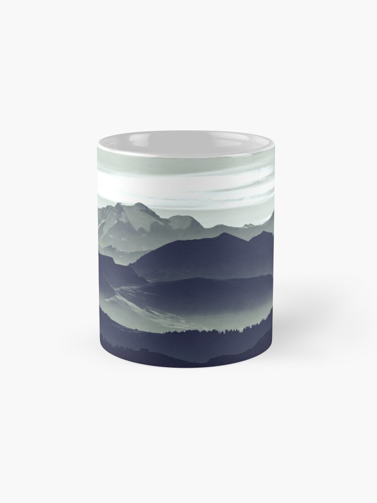 Alternate view of Mountains are calling for us Mug