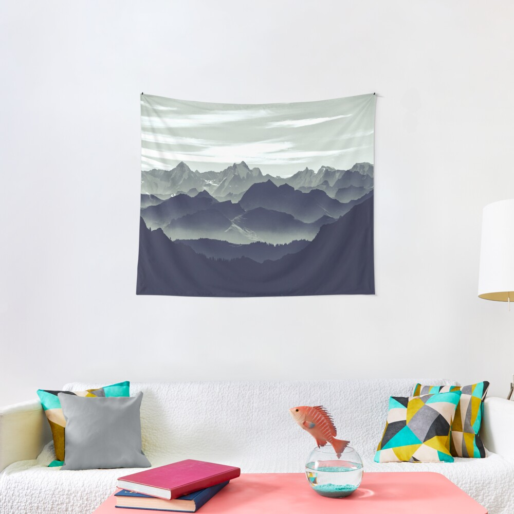 Mountains are calling for us Tapestry