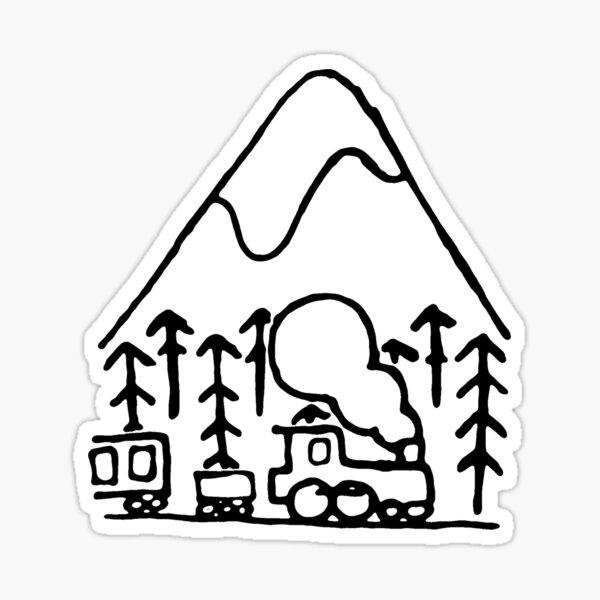 Train Sticker