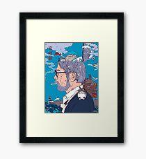 Hayao Miyazaki  Framed Print