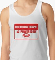 horticultural therapist, horticultural,  therapist, powered Men's Tank Top
