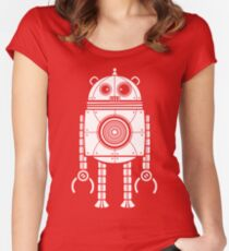 Big Robot 1.0 Women's Fitted Scoop T-Shirt