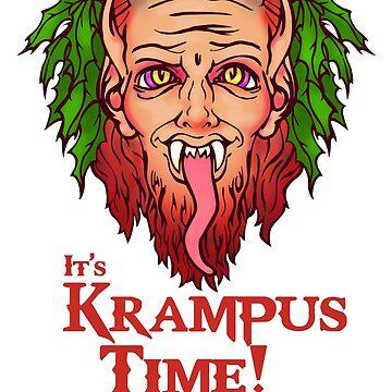 It's Krampus Time by saraadrian