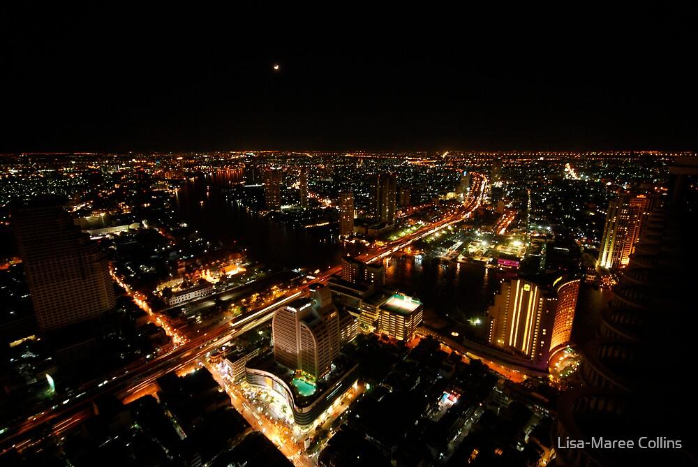 Bangkok a city of lights by Lisa-Maree Collins