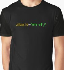 Linux Programmer Graphic T-Shirt