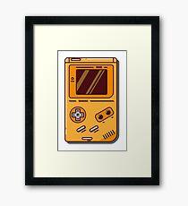 Nintendo Game Boy - Retro Gamer Framed Print