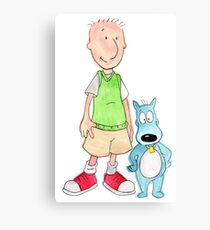 Doug and Porkchop Canvas Print