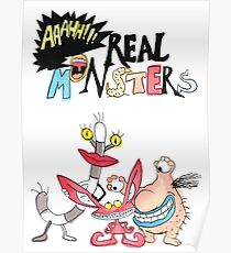 Real Monsters! Poster
