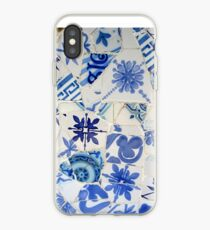 Mosaic - Blue iPhone Case